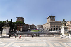 Piazza Venezia Royalty Free Stock Images