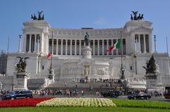 Piazza Venezia Rome Italy royalty free stock photo