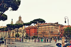Piazza Venezia Rome Italy Royalty Free Stock Images