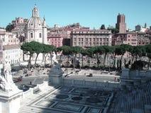 Piazza Venezia, Rome Royalty Free Stock Photos