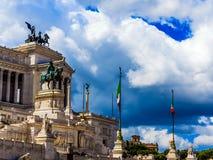 Piazza Venezia, Rome Royalty Free Stock Photography