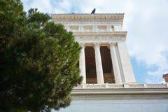 Piazza Venezia Rzym Fotografia Royalty Free