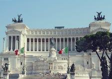 Piazza Venezia Rzym, Włochy Fotografia Royalty Free