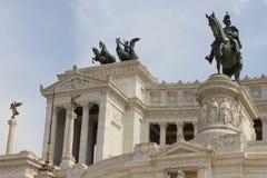 piazza venezia Rzymu Obrazy Stock