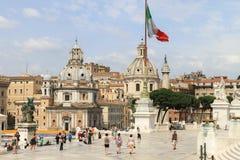 piazza venezia Rzymu Fotografia Stock