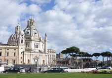 Piazza Venezzia royalty free stock photo