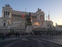 Piazza Venzia royalty-vrije stock afbeeldingen