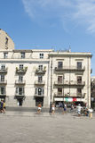 Piazza Verdi in Palermo Royalty Free Stock Photo