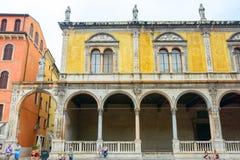 Piazza Verona, Italia Zdjęcia Royalty Free