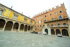 Piazza Verona, Italia Fotografia Royalty Free