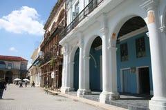 Piazza Vieja Havana, Kuba. Lizenzfreies Stockfoto