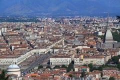 Piazza Vittorio di Torino Fotografia Stock Libera da Diritti