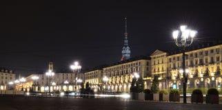 Piazza Vittorio Emanuele II a Torino immagine stock