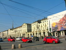 Piazza Vittorio, Torino, Italy Royalty Free Stock Photography
