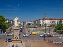 Piazza Vittorio Turin Stock Photography