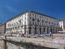 Piazza Vittorio Turin Royalty Free Stock Photography