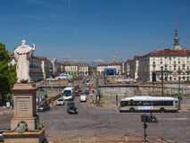 Piazza Vittorio Turin Royalty Free Stock Photo