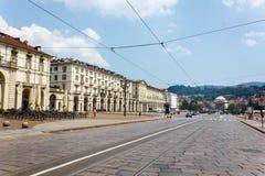 Piazza Vittorio Veneto Immagini Stock Libere da Diritti