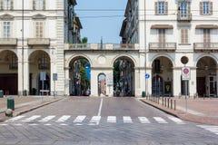 Piazza Vittorio Veneto Royalty Free Stock Image