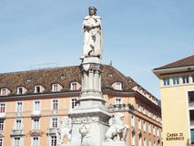 Piazza Walther of Bolzano Royalty Free Stock Photos
