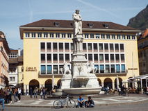 Piazza Walther of Bolzano Royalty Free Stock Images