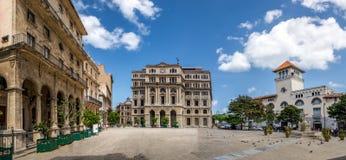 Piazzade San Francisco - Havana, Kuba stockfotos