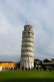 Piazzadei Miracoli på Pisa Arkivfoton