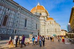 Piazzadella Signoria i Florence, Italien 免版税库存图片