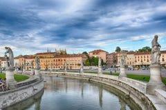 Piazzadelllaen valle, Padua, Italien Fotografering för Bildbyråer