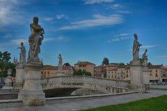 Piazzadelllaen valle, Padua, Italien Arkivbilder