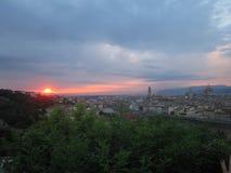 Piazzale米开朗基罗 免版税库存图片