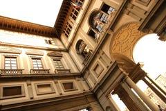Piazzale degli Uffizi Stock Images