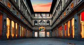 Piazzale degli Uffizi Royalty Free Stock Images