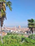 Piazzale Michelangelo, Φλωρεντία, Τοσκάνη, Ιταλία στοκ εικόνες