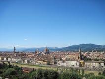 Piazzale Michelangelo Στοκ εικόνες με δικαίωμα ελεύθερης χρήσης