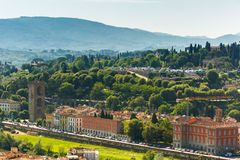 Piazzale Michelangelo in Florence, Italy Royalty Free Stock Photos