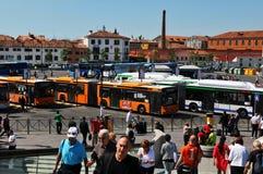 Piazzale Roma, Venecia Fotos de archivo