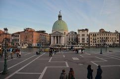 Piazzale Roma, Venecia Fotografía de archivo libre de regalías