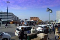 Piazzale Roma, Venedig Arkivbild