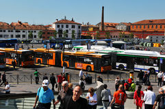 Piazzale Rome, Venetië Stock Foto's