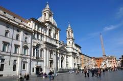 Piazzanavonafyrkant italy rome Royaltyfri Foto