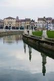 PiazzaPrato della Valle, Padua royaltyfri fotografi