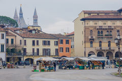 PiazzaPrato della Valle, Padua arkivfoto