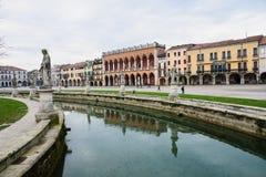 PiazzaPrato della Valle, Padua royaltyfri bild