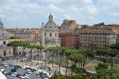 piazzarome venezia Arkivfoton