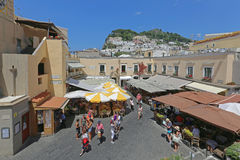 Piazzetta Capri Royalty Free Stock Photo