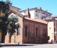 Piazzetta del Castello, Ferrara, Italy Stock Photography