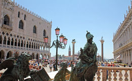Piazzetta di圣Marco 免版税图库摄影