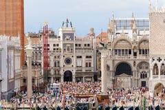 Piazzetta di San Marco Stockfoto