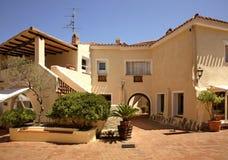 Piazzetta em Porto Cervo Sardegna Italia Imagem de Stock Royalty Free